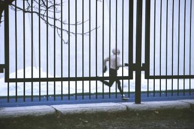 on the run. Toronto, Ontario. December 2019. ~ Shot with the Canon Rebel 2000, on 35 mm Kodak Ultramax 400 film.