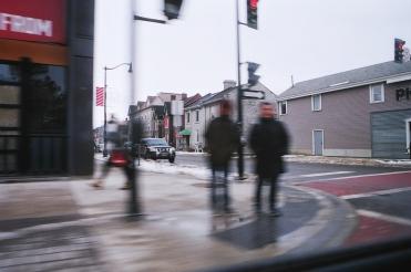 just passing through. Kingston, Ontario. February 2020. ~ Shot with the Canon Rebel 2000, on 35 mm Kodak Ultramax 400 film.